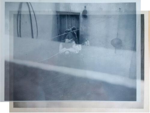 Superposition des photos A et B