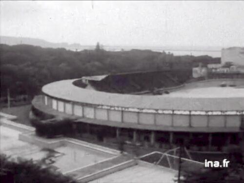 Le Stade municipal, le 9 juillet 1962, JT, 10 juillet 1962, INA, captures d'écran